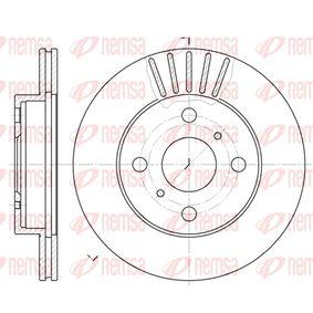 Bremsscheibe Bremsscheibendicke: 17,9mm, Lochanzahl: 4, Ø: 235mm, Ø: 235mm mit OEM-Nummer 43512 52050