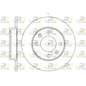 Disco de freno 6630.00 C3 I Hatchback (FC_, FN_) 1.4 16V HDi ac 2021