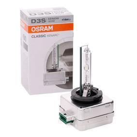 Крушка с нагреваема жичка, фар за дълги светлини D3S (газоразрядна лампа), 35ват, 42волт 66340CLC