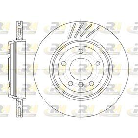 Bremsscheibe Bremsscheibendicke: 22mm, Lochanzahl: 5, Ø: 319mm mit OEM-Nummer 34 20 1 166 073