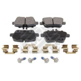 Bremsbelagsatz, Scheibenbremse Breite: 106,5mm, Höhe: 59,3mm, Dicke/Stärke: 18mm mit OEM-Nummer 007 420 9420