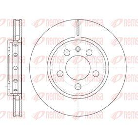 Bremsscheibe Bremsscheibendicke: 21,9mm, Lochanzahl: 5, Ø: 256mm, Ø: 256mm mit OEM-Nummer 8L0 615 601