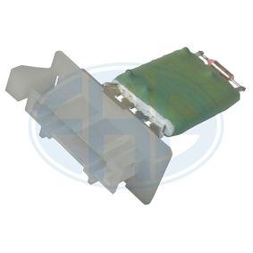 Odpor, vnitřní tlakový ventilátor 665052 Octa6a 2 Combi (1Z5) 1.6 TDI rok 2010
