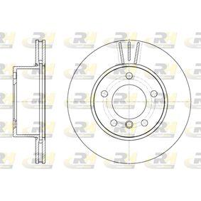Bremsscheibe Bremsscheibendicke: 22mm, Lochanzahl: 5, Ø: 284mm mit OEM-Nummer 3411 6 764 629