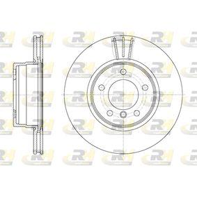 Bremsscheibe Bremsscheibendicke: 24mm, Lochanzahl: 5, Ø: 309,8mm mit OEM-Nummer 34 116 764 021