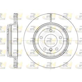 Bremsscheibe Bremsscheibendicke: 20mm, Lochanzahl: 5, Ø: 320mm mit OEM-Nummer 3421 6 753 215