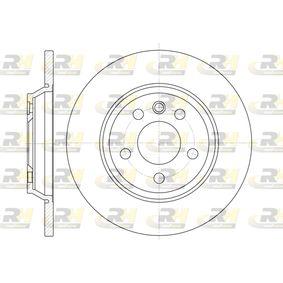 Bremsscheibe Bremsscheibendicke: 13,6mm, Lochanzahl: 5, Ø: 293,6mm mit OEM-Nummer 7D0.615.601A