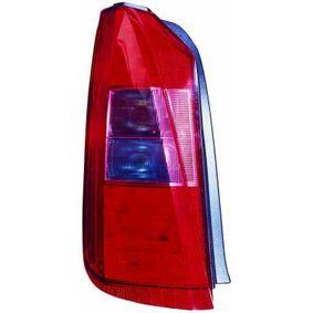Luce posteriore 666-1905L-UE MUSA (350) 1.4 ac 2012