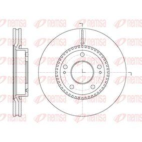 Bremsscheibe Bremsscheibendicke: 26mm, Lochanzahl: 5, Ø: 280mm, Ø: 280mm mit OEM-Nummer 51712-1F300