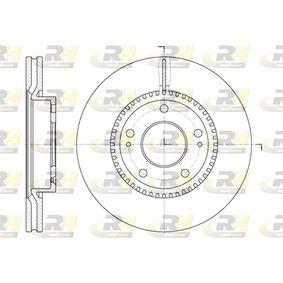 Bremsscheibe Bremsscheibendicke: 26mm, Lochanzahl: 5, Ø: 280mm, Ø: 280mm mit OEM-Nummer 517121F300