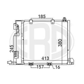 Kondensator, Klimaanlage mit OEM-Nummer 93 170 621