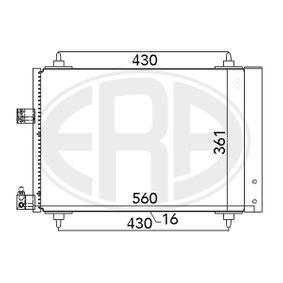 Kondensator, Klimaanlage mit OEM-Nummer 6455CP