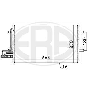 Kondensator, Klimaanlage mit OEM-Nummer 1335552