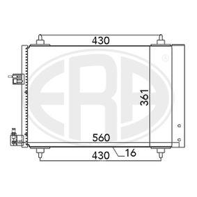 Kondensator, Klimaanlage mit OEM-Nummer 6455 EX