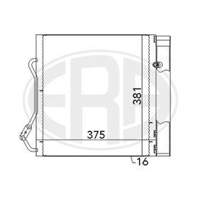 Kondensator, Klimaanlage mit OEM-Nummer 000 1632 V003