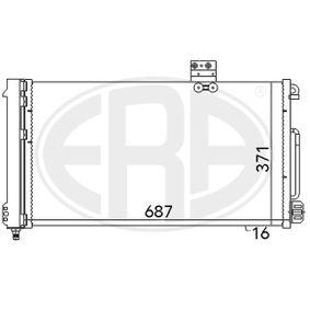 Kondensator, Klimaanlage mit OEM-Nummer A2035001354