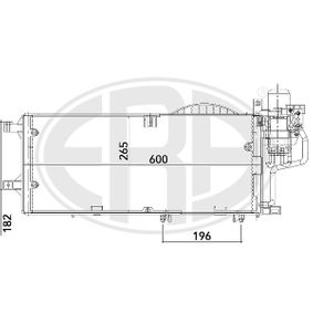 Kondensator, Klimaanlage mit OEM-Nummer 13 140 750