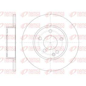 Bremsscheibe Bremsscheibendicke: 12,2mm, Lochanzahl: 5, Ø: 276mm mit OEM-Nummer 169 421 00 12