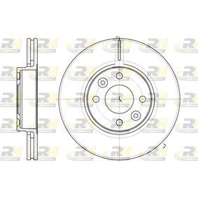 Bremsscheibe Bremsscheibendicke: 22mm, Lochanzahl: 4, Ø: 259,8mm mit OEM-Nummer 40206-AX600-