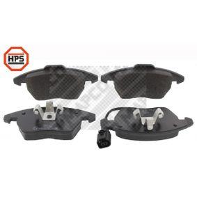 Kit de plaquettes de frein, frein à disque Largeur 1: 155mm, Largeur 2: 156mm, Hauteur 1: 66mm, Hauteur 2: 71mm, Épaisseur: 21mm avec OEM numéro 8J0-698-151-C