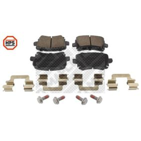 Bremsbelagsatz, Scheibenbremse Breite: 105,3mm, Höhe: 55,9mm, Dicke/Stärke: 17,1mm mit OEM-Nummer 3C0698451C