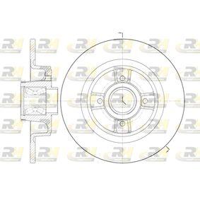ROADHOUSE Disco de travão 6698.20 com códigos OEM 7701206328