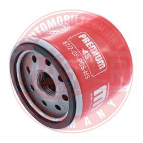 Ölfilter Ø: 66mm, Außendurchmesser 2: 62mm, Innendurchmesser 2: 54mm, Innendurchmesser 2: 54mm, Höhe: 65mm mit OEM-Nummer 47 08 878