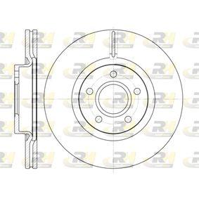 Bremsscheibe Bremsscheibendicke: 25mm, Lochanzahl: 5, Ø: 300mm, Ø: 300mm mit OEM-Nummer LR-000571