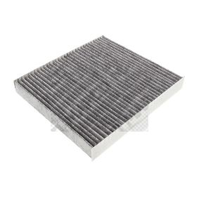 Filter, Innenraumluft Länge: 255mm, Breite: 234mm, Höhe: 30mm mit OEM-Nummer 5Q0819653