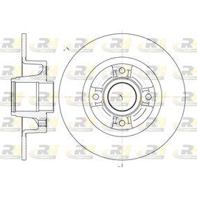 Renault Twingo 2 1.2 Turbo (CN0C, CN0F) Bremsscheiben ROADHOUSE 6750.00 (1.2 Turbo Benzin 2010 D4F 782)