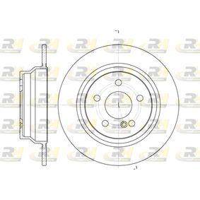 Bremsscheibe Bremsscheibendicke: 10mm, Lochanzahl: 5, Ø: 300mm mit OEM-Nummer A21 142 30712