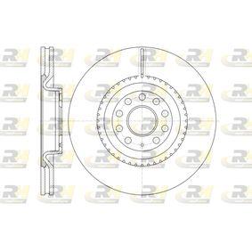 Спирачен диск дебелина на спирачния диск: 30мм, брой на дупките: 9, Ø: 345мм с ОЕМ-номер 1K0615301AB