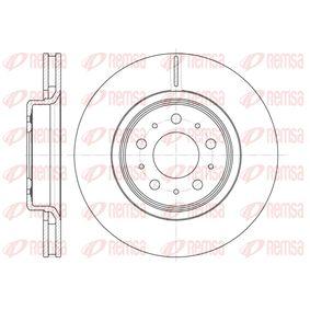 Disco de freno 6795 10 CIVIC 8 Hatchback (FN, FK) 2.0 R ac 2021