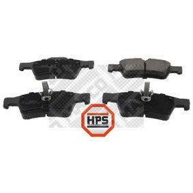 Fékbetét készlet, tárcsafék 6795HPS E-osztály Sedan (W211) E 220 CDI 2.2 (211.006) Év 2005