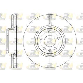 Bremsscheibe Bremsscheibendicke: 30mm, Lochanzahl: 5, Ø: 320,8mm mit OEM-Nummer 4F0 615 301 E