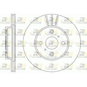 Disque de frein Epaisseur du disque de frein: 18mm, Nbre de trous: 4, Ø: 254mm avec OEM numéro 43512 16 130