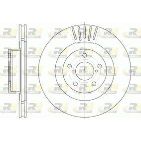 Bremsscheibe Bremsscheibendicke: 24mm, Lochanzahl: 5, Ø: 294mm mit OEM-Nummer 26300-FE010