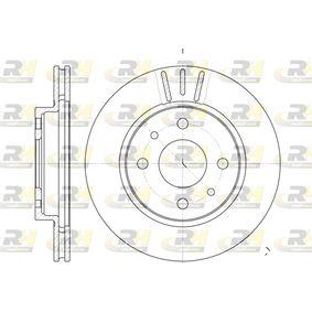 Bremsscheibe Bremsscheibendicke: 20mm, Lochanzahl: 4, Ø: 239mm mit OEM-Nummer 2110 350 1070