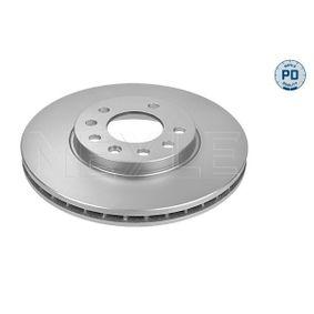 Bremsscheibe Bremsscheibendicke: 24,8mm, Lochanzahl: 5, Ø: 279,8mm mit OEM-Nummer 91 17 678