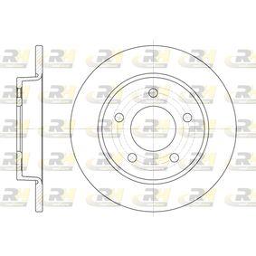 2013 Mazda 3 BL 1.6 MZR CD Brake Disc 6906.00