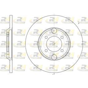 Bremsscheibe Bremsscheibendicke: 13mm, Lochanzahl: 4, Ø: 263,5mm mit OEM-Nummer C 46113