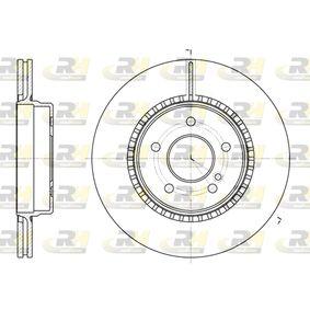 Bremsscheibe Bremsscheibendicke: 22mm, Lochanzahl: 5, Ø: 300,1mm mit OEM-Nummer 210 423 0812