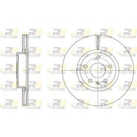 Bremsscheibe Bremsscheibendicke: 25mm, Lochanzahl: 5, Ø: 312mm, Ø: 312mm mit OEM-Nummer 1K0615301AA