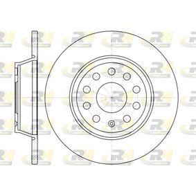 Bremsscheibe Bremsscheibendicke: 12mm, Lochanzahl: 9, Ø: 285,8mm mit OEM-Nummer 1K0.615.601M