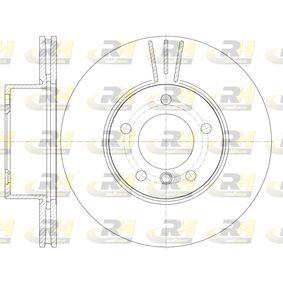 Bremsscheibe Bremsscheibendicke: 24mm, Lochanzahl: 5, Ø: 300mm mit OEM-Nummer 3411 6 854 998