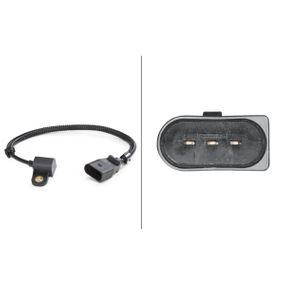 Sensor, posición arbol de levas Número de conexiones: 3, Long. cable: 260mm con OEM número 038957147G