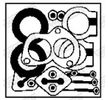OEM Montagesatz, Schalldämpfer WALKER 1012720 für FIAT