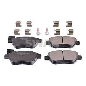 Bremsbelagsatz, Scheibenbremse Breite: 53,1mm, Dicke/Stärke 1: 17mm mit OEM-Nummer 77365465