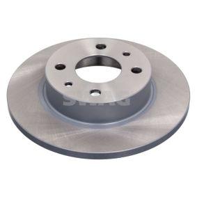 Bremsscheibe Bremsscheibendicke: 12mm, Ø: 240,2mm mit OEM-Nummer 7 173 842 3