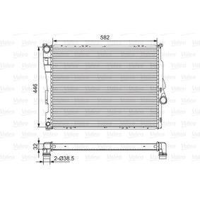 Radiateur, refroidissement du moteur avec OEM numéro 17119071518